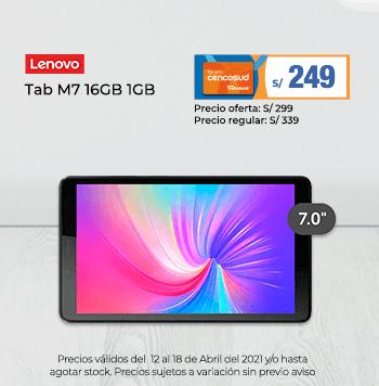 Lenovo Tab M7 16GB 1GB