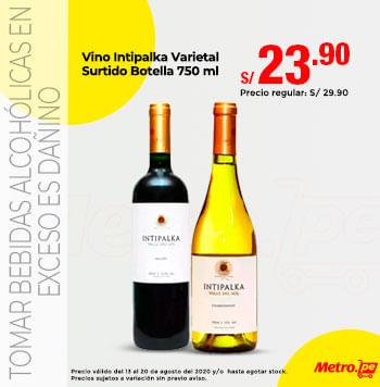 Vino Intipalka Varietal Surtido Botella 750 ml