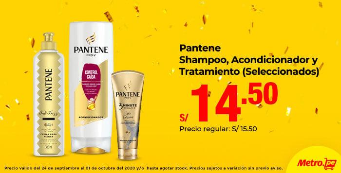 Pantene Shampoo,Acondicionador y Tratamiento