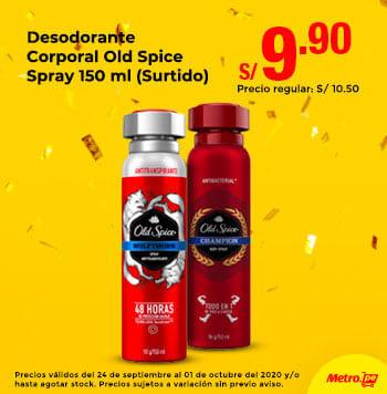 Desodorante Corporal Old Spice Spray 150ml