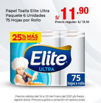 Papel Toalla Elite Ultra