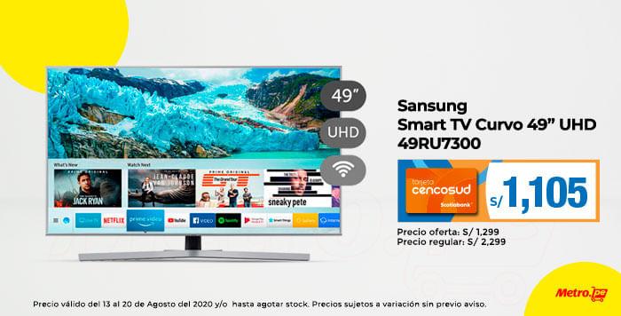Samsung Smart TV Curvo 49