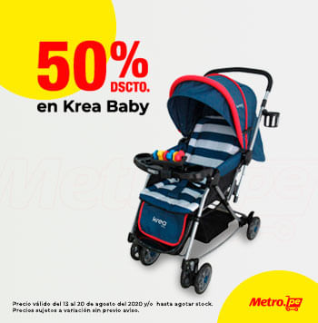 50% dscto en Krea Baby