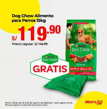 Dog Chow Alimento para Perros 15kg