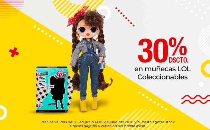 30% de dscto en muñecas LOL Coleccionables