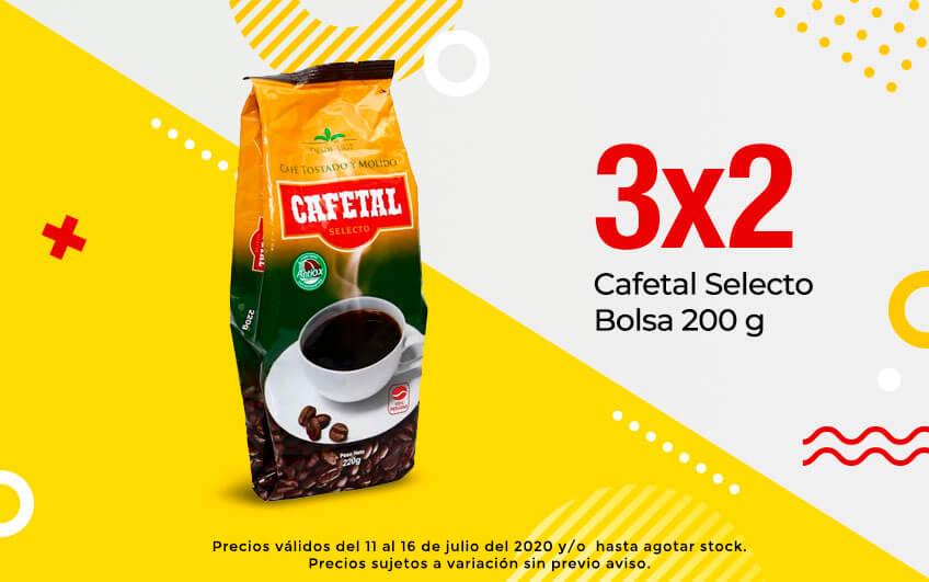 Cafetal Selecto Bolsa 200 g