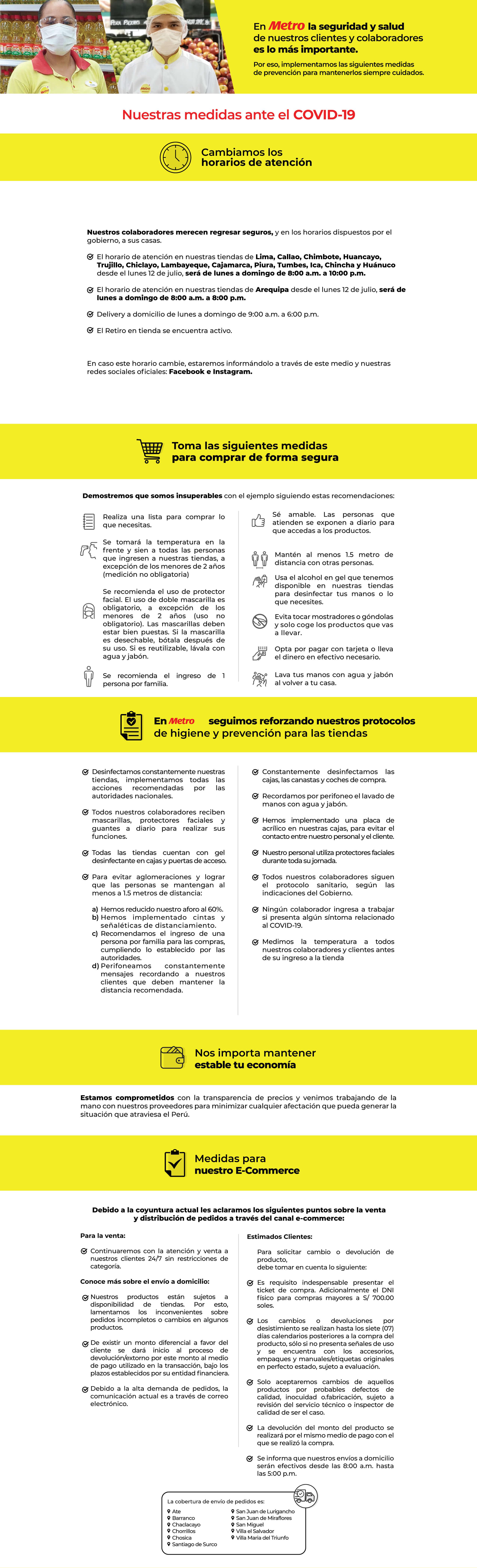 infografía de medidas ante covid-19