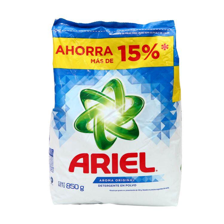 f019af85d6dee Detergente en Polvo Ariel Regular Bolsa 900 g