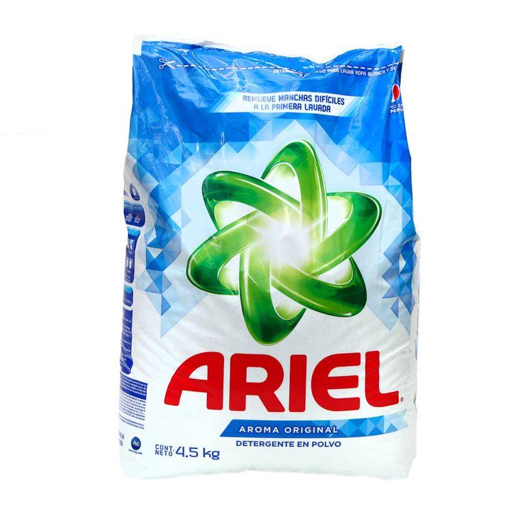 11deda05c4e70 Detergente en Polvo Ariel Original Bolsa 4.5 Kg