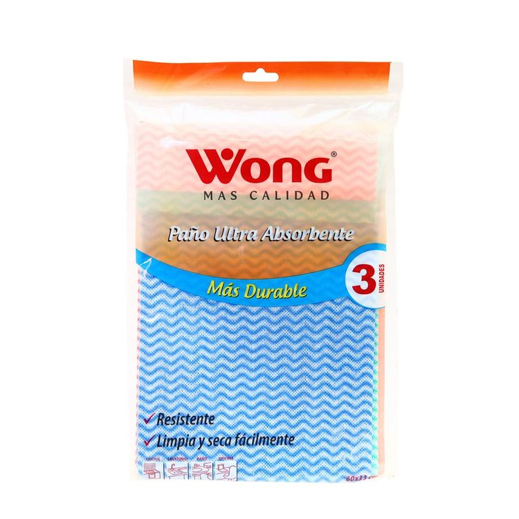 Paño-Ultra-Absorbente-Wong-Pack-3-Unid