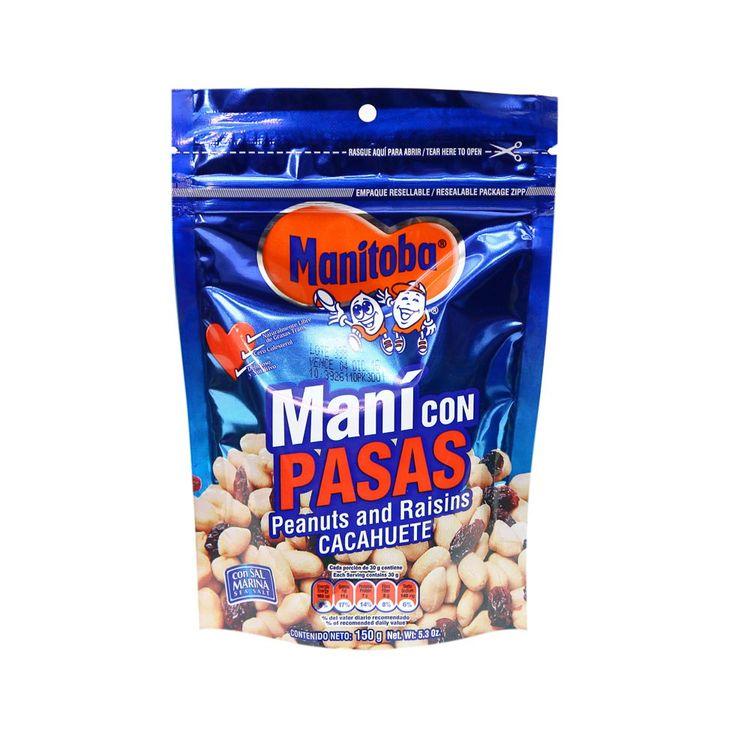 Mani-con-Pasas-Wong-Doy-Pack-150-g