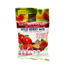 Snack-Wild-Berry-Mix-Nature-s-Heart-Terra-Fertil-Bolsa-28-g