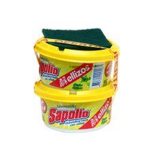 Lavavajilla-en-Crema-Sapolio-Limon-Pack-2-Unid-x-360-g