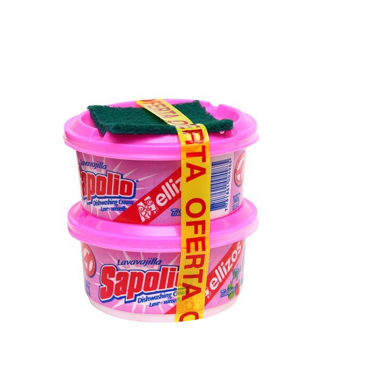 Lavavajilla-en-Crema-Sapolio-Tutti-Frutti-Pack-2-Unid-x-360-g