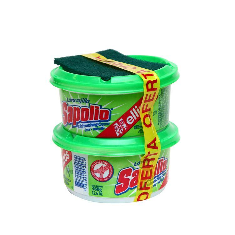 Lavavajilla-en-Crema-Sapolio-Manzana-Pack-2-Unid-x-360-g