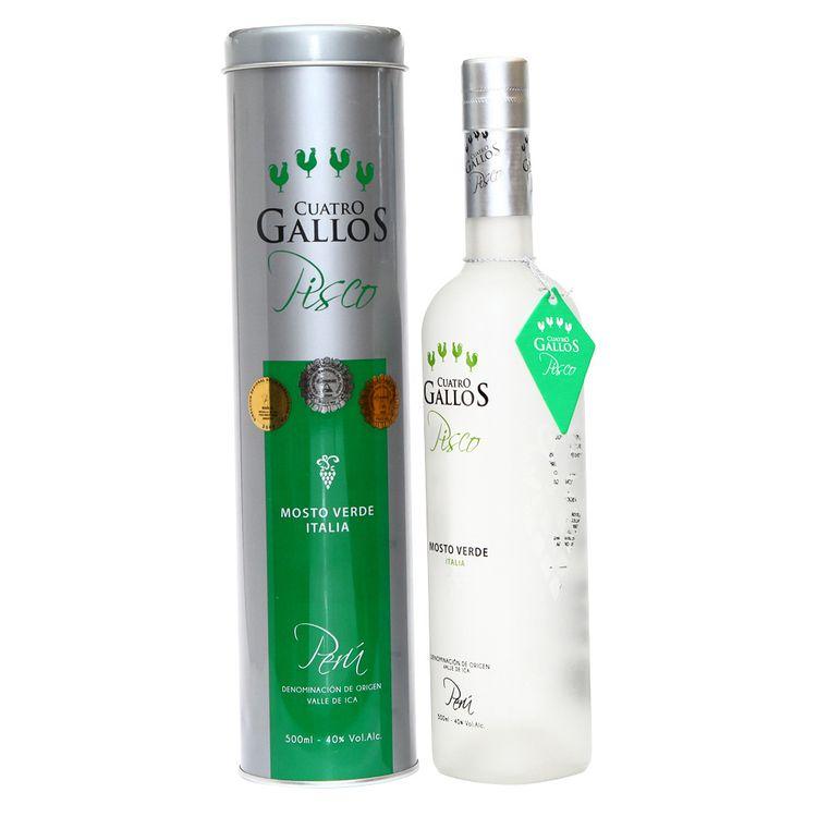 Pisco-Mosto-Verde-Cuatro-Gallos-Italia-Botella-500-ml