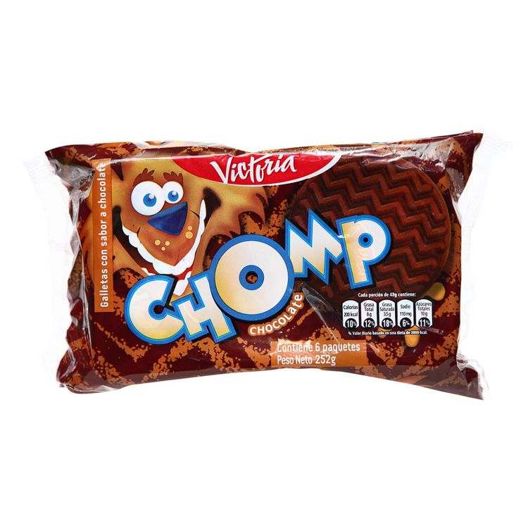 Galletas-Chomp-Victoria-Chocolate-Pack-6-Unid-x-42-g
