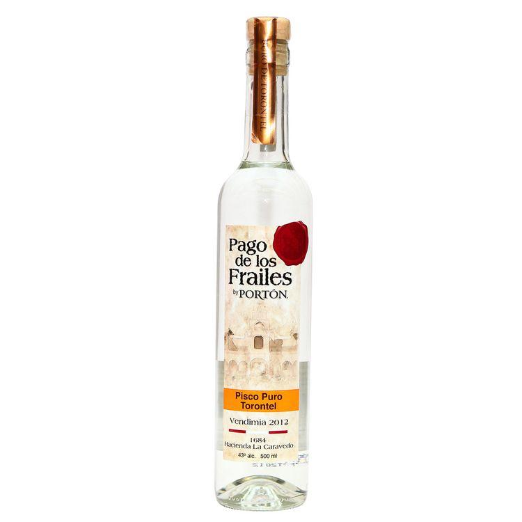 Pisco-Puro-Pago-de-los-Frailes-Torontel-Botella-750-ml---Tubo
