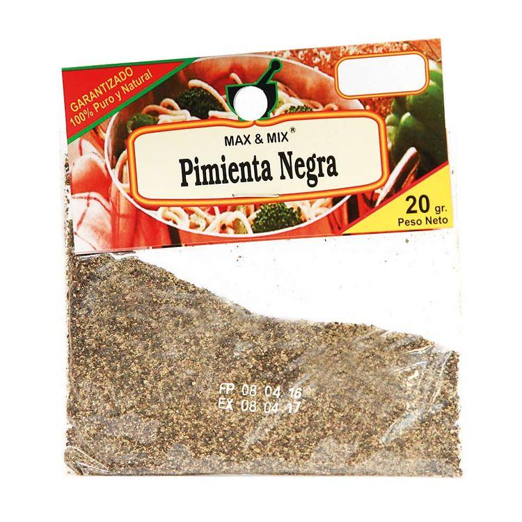 Pimienta-Negra-Molida-Max---Mix-Sobre-20-g