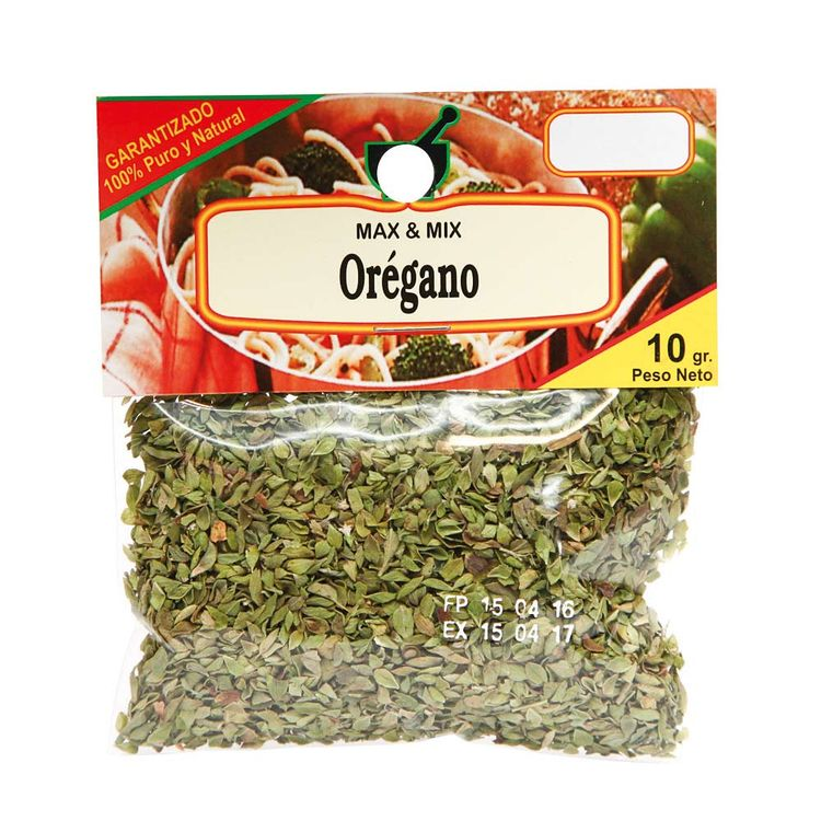 Oregano-Entero-Max---Mix-Sobre-10-g