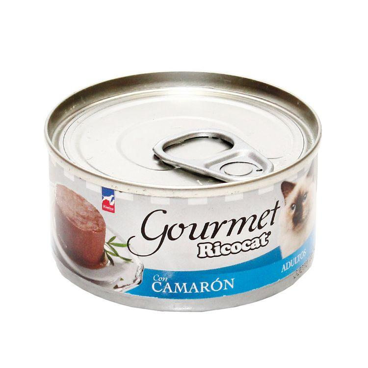Alimento-para-Gatos-Ricocat-Gourmet-Adultos-Pate-con-Camaron-Lata-3-Onzas