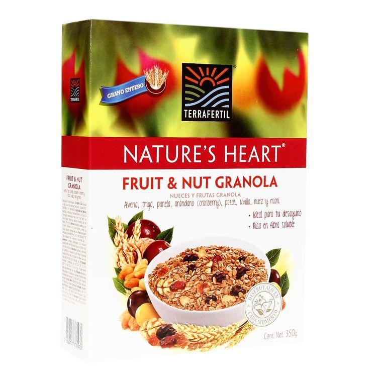 Granola-Nature-s-Heart-Terra-Fertil-Fruit---Nut-Caja-350-g