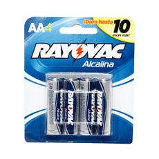 Pilas-Alcalinas-Rayovac-AA-Pack-4-Unid
