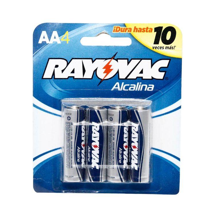 Pilas-Alcalinas-Rayovac-AA-Pack-4-Unid