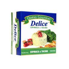 Queso-Crema-Gourmet-Delice-Con-Espinaca-y-Tocino-Caja-150-g-69663007