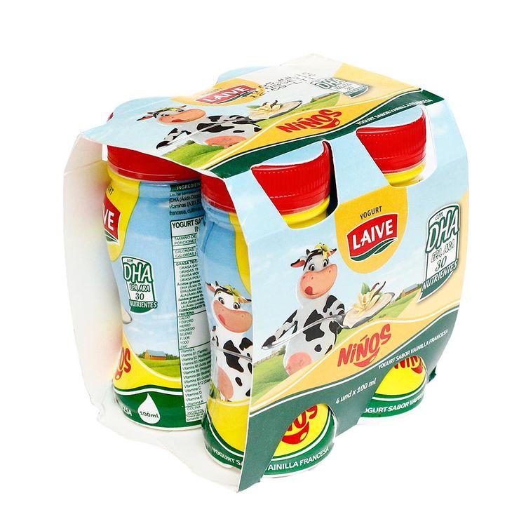 Yogurt-Bebible-Laive-Ninos-Vainilla-Pack-4-Unid-x-100-ml-432890002