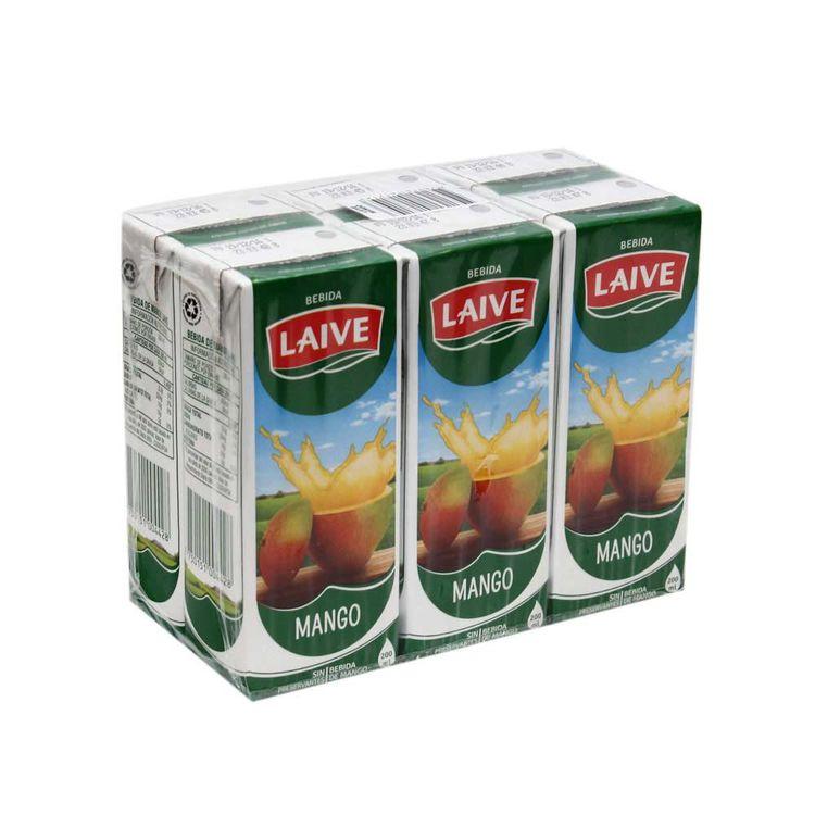 Jugo-de-Mango-Laive-Pack-6-Unid-x-200-ml