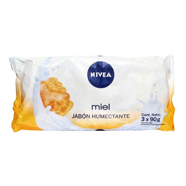 Jabon-en-Barra-Nivea-Humectante-Miel-Pack-3-Unid-90-g