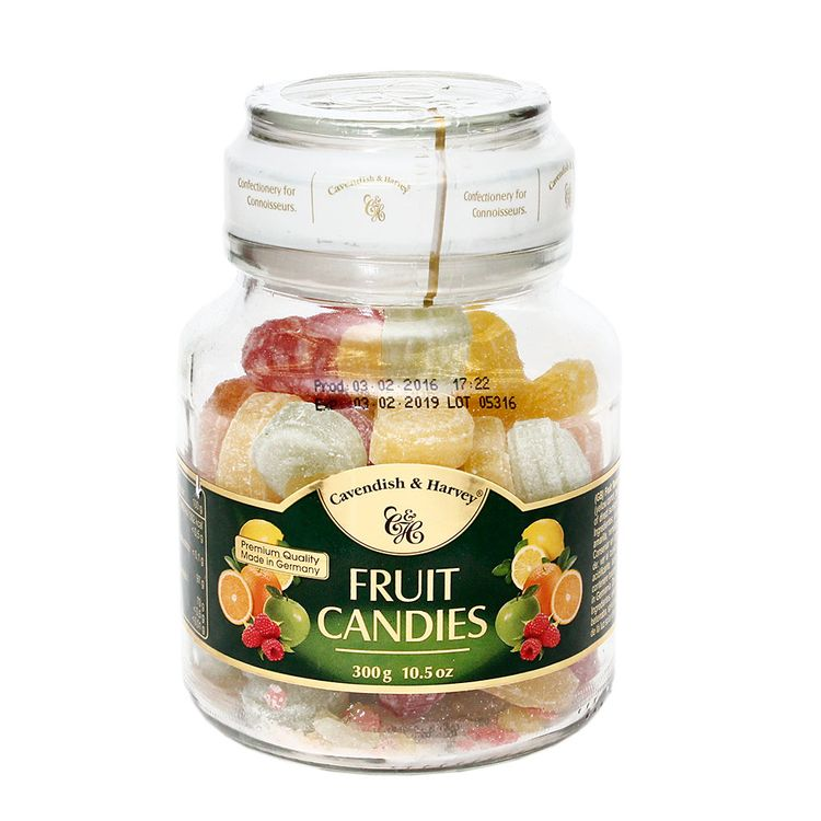 Caramelos-Cavendish---Harvey-Fruit-Candies-Frasco-300-g