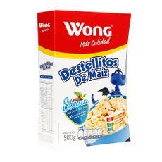 Cereal-con-Stevia-Wong-Destellitos-de-Maiz-Caja-500-g