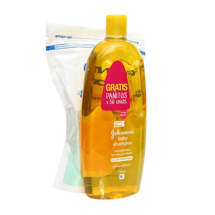 Shampoo-Johnson-s-Baby-750-ml---Toallitas-Humedas-Bolsa-50-Unid