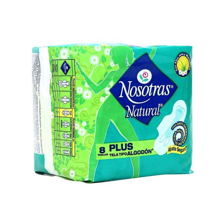 Toallas-Higienicas-Nosotras-Natural-Plus-Tela-Bolsa-8-Unid
