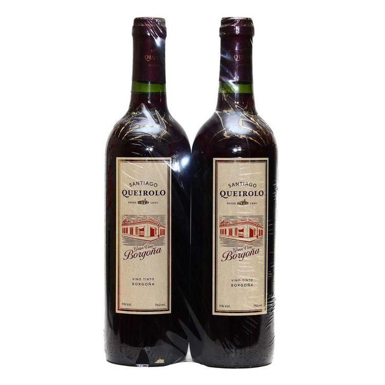 Vino-Tinto-Santiago-Queirolo-Borgoña-Semi-Seco-Pack-2-Botellas-750-ml