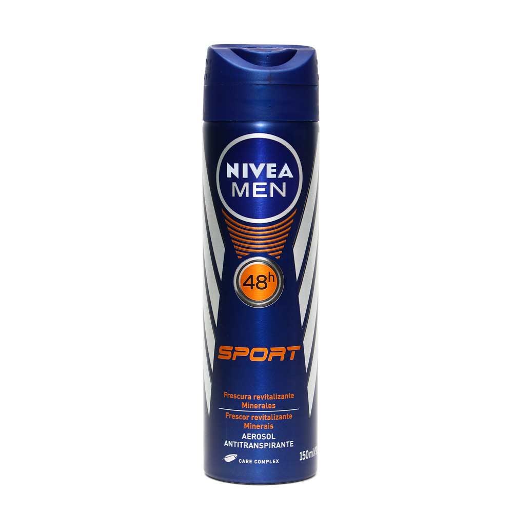 Nivea sport 150 ml aerosol masc