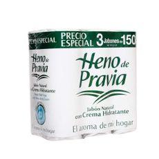 Jabon-en-Barra-Heno-de-Pravia-Crema-Hidratante-Pack-3-Unid-150-g