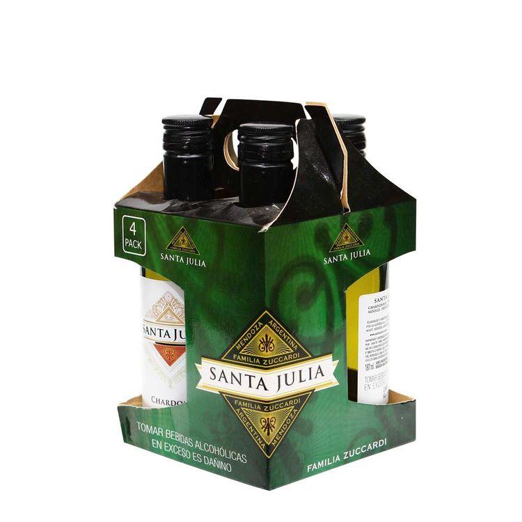 Vino-Blanco-Santa-Julia-Chardonnay-Pack-4-Unid-x-187-ml