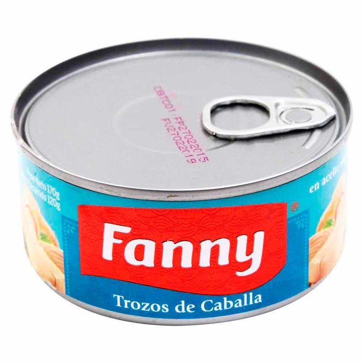 Trozos-de-Caballa-Fanny-En-Aceite-Vegetal-Lata-170-g