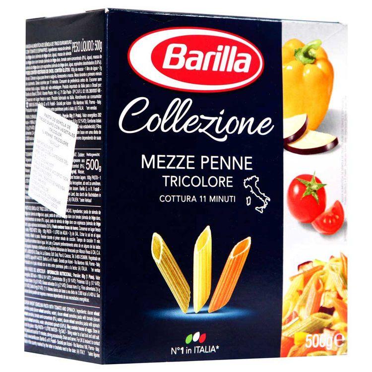 Pastina-Penne-Rigate-Tricolor-La-Collezione-Barilla-Caja-500-g