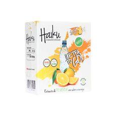 Refresco-Instantaneo-Haiku-Extracto-de-Te-Verde-con-Naranja-Caja-10-Sobres