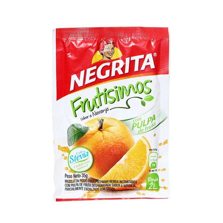 Refresco-Instantaneo-La-Negrita-Frutisimos-Naranja-con-Stevia-Sobre-35-g