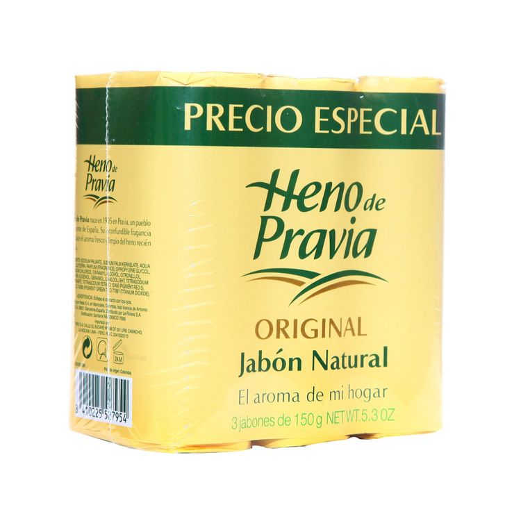 Jabon-en-Barra-Heno-de-Pravia-Original-Pack-3-Unid-150-g