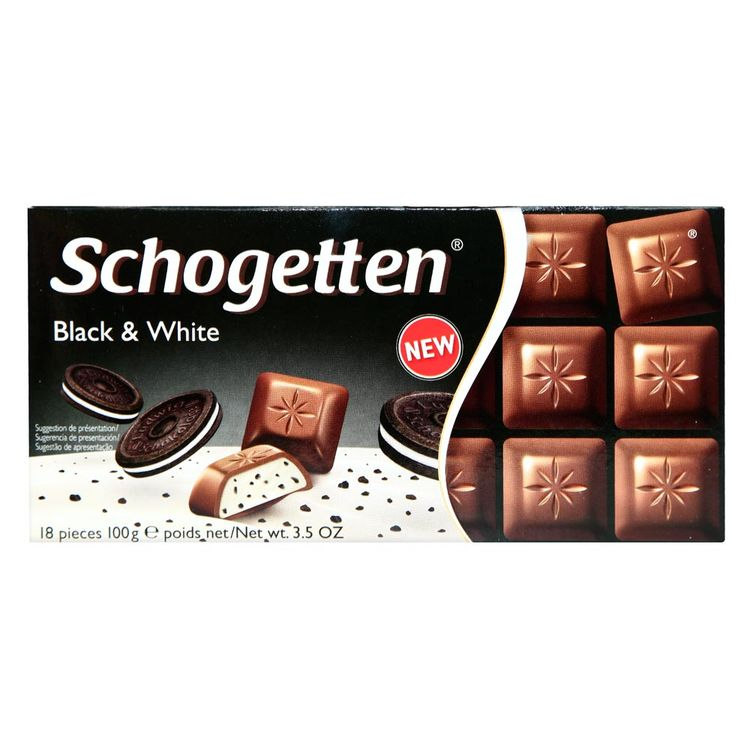 Chocolate-Schogetten-Black---White-Tableta-100-g