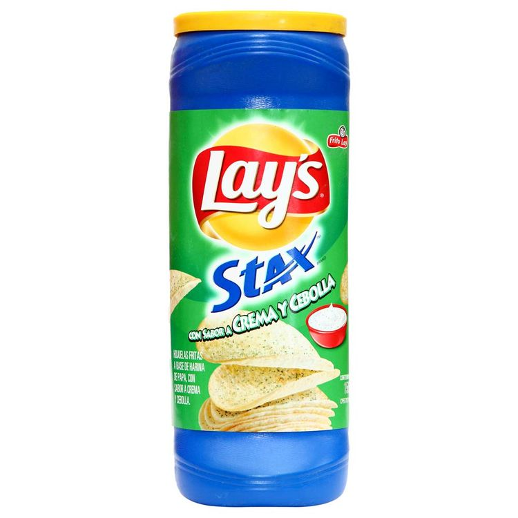 Papas-Stax-Onion-Lay-s-Lata-163-g