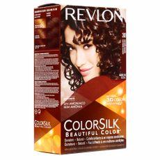 Tinte-Colorsilk-Revlon-30-Castaño-Oscuro