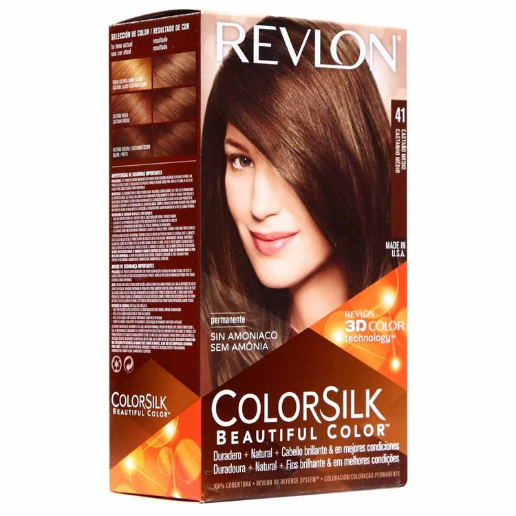 Tinte-Colorsilk-Revlon-41-Castaño-Medio