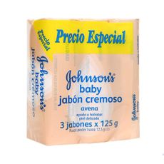 Jabon-Cremoso-Johnson-s-Baby-Avena-Pack-3-Unid-125-g